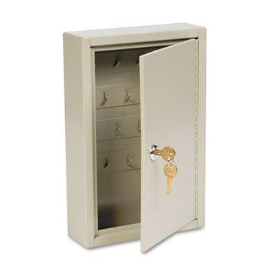 Dupli-Key Two-Tag Cabinet, 30-Key, Welded Steel, Sand, 8 x 2 1/2 x 12 1/8, Sold as 1 Each