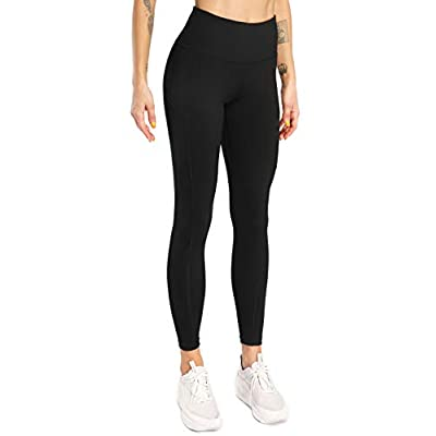 Sweetaluna Workout Leggings for Women with Pockets,High Waist Training Yoga Pants Running Tights: Clothing