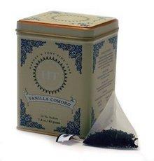 Harney and Son Vanilla Comoro Decaf Black Tea - 20 bags per pack -- 4 packs per case.