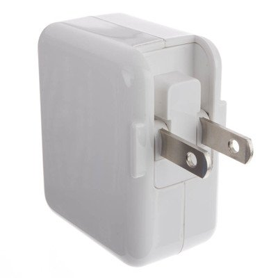 White 2 Port USB Wall Travel Charger 3.1 Amps ( 30 PACK ) BY NETCNA by NETCNA (Image #2)