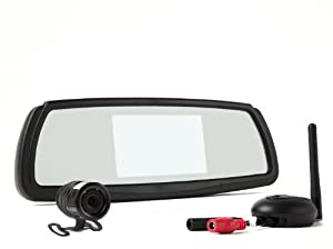 Rear View Safety RVS-091407 Video Camera with 4.3-Inch LCD (Black)