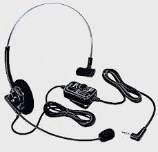 Yaesu SSM-63A VOX Headset For FT-2DR, FT-60R Radios (Package Ssm)