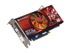 (ECS NGTS250 512QX F ECS NGTS250-512QX-F GeForce GTS 250 512MB 256-bit DDR3 PCI Express 2.0)