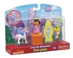 Fisher-Price Dora's Let's Go Adventure - Fairytale (Adventure Fairy Tale Dora)