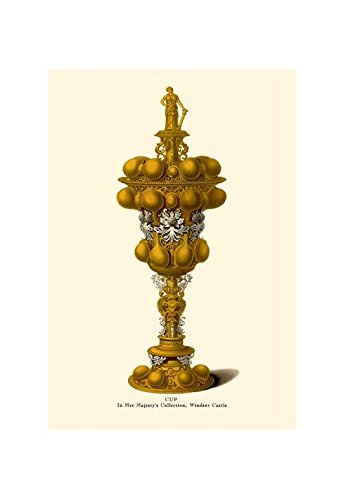 """""""Cup, in Her Majesty's Collection, Windsor Castle"""" Print (Unframed Paper Poster Giclee 20x29)"""