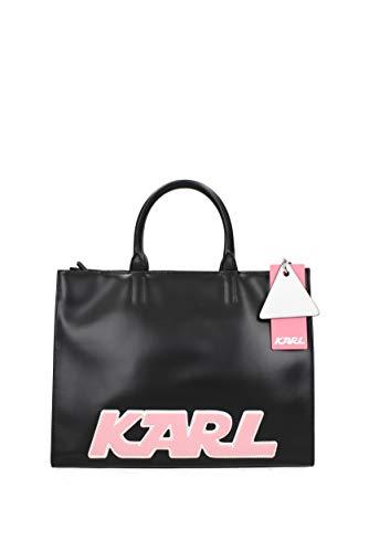 Lagerfeld Borse Karl 81kw3064 Donna Pelle Nero A Mano zwRFnFdxq6