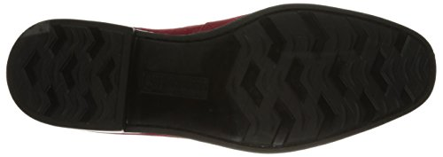 Stacy Adams Heren Nesbit Moc-teen Slip-on Loafer Kersen Suède