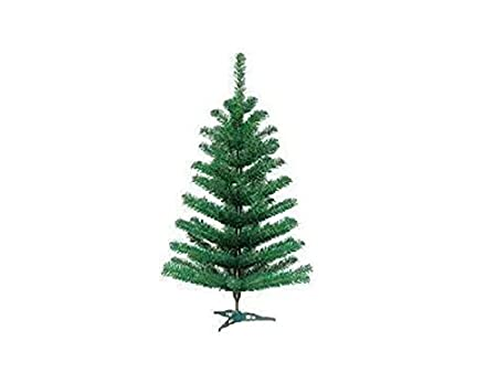 3FT GREEN ARTIFICIAL CHRISTMAS TREE WITH STAND - 3FT GREEN ARTIFICIAL CHRISTMAS TREE WITH STAND: Amazon.co.uk