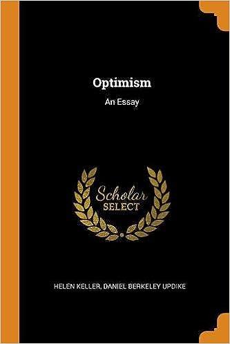 optimism essay