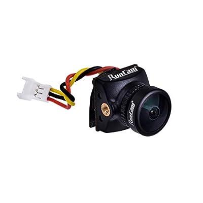 RunCam Nano2 Ultra Micro Camera Swift Mini 1/3 700TVL CMOS 2.1mm/1.8mm Nano 2 FPV Camera NTSC/PAL for RC Racing Drone DIY Quadcopter (Nano2 2.1mm NTSC): Toys & Games