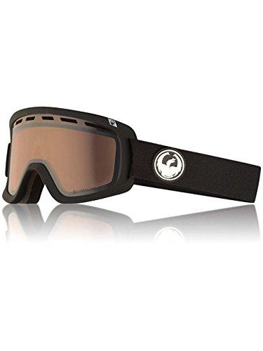 Dragon Alliance D1 OTG Ski Goggles, Black, Black/Luma Silver Lens