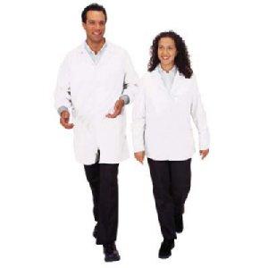 Tech Wear Lab Jacket, Lapel Collar, Small,Waist Length,ESD