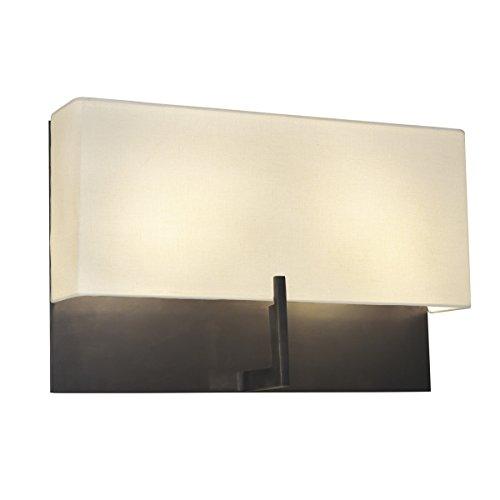 Sonneman 4431.30, Staffa Tall Wall Sconce Lighting, 4 Light, 80 Total Watts, Bronze ()