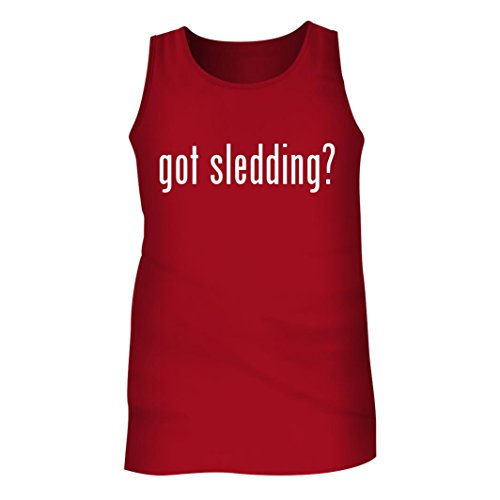 Tracy Gifts Got Sledding? - Men's Adult Tank Top, Red, (Caldwell Lead Sled Dft)
