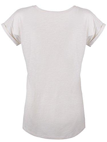 Damen T-Shirt Robbit weiß