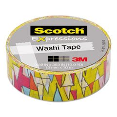 3M Expressions Washi Tape, .59\