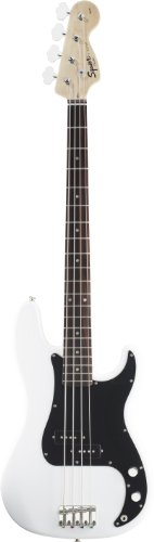 Fender Squier Affinity Precision Bass, Olympic White, Rosewood Fretboard