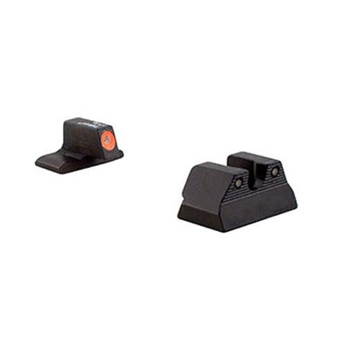 Trijicon H&K P2000 HD Front Outline Night Sight Set, Orange by Trijicon