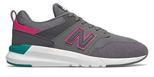 New Balance Women's 09v1 Training Shoe Sneaker, Castlerock/Magnet, 10.5 M US