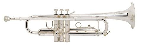 Bach TR200 Series Bb Trumpet TR200S Silver by Bach