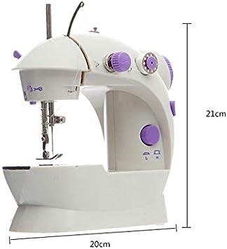 Mini máquina de coser eléctrica multifunción doméstica