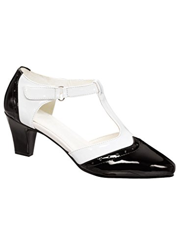 Beacon Womens Adult Angel Steps Layla synthetic Black/White kBqaYmJAU