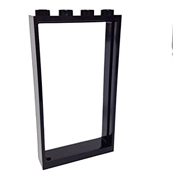 Lego Parts: Door Frame 1 x 4 x 6 (Black) by Parts/Elements - Door ...