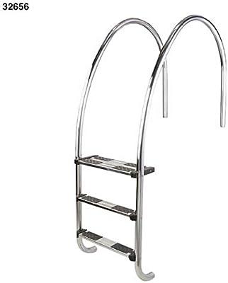 LordsWorld - Astralpool - 32656 5-Escalera Plegable para la Piscina con los Bordes del Infinito - Escaleras y escaleras para Acceder fácilmente a Piscinas - 32656 Global: Amazon.es: Jardín