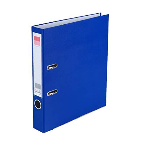 DEI QI Equipos de Oficina de cartón Negro Azul Puede Elegir, Carpeta de la Carpeta de Archivos ponche A4 Dos Agujeros Clip...