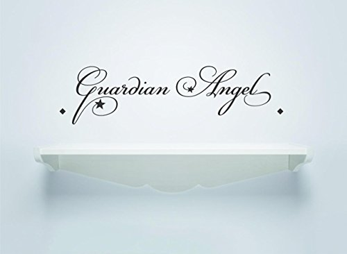 Decal Wall Sticker - ON SALE NOW : Guardian Angel Quote Home Decor Picture Art Size :8 Inches x 20 Inches Angel Quotes Christmas
