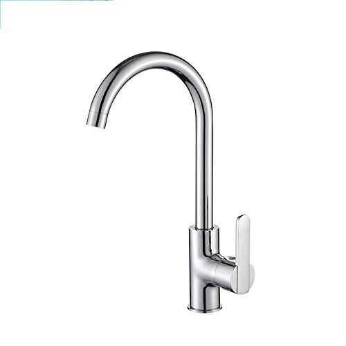 HATHOR-23 Faucet - Hot and Cold Kitchen Faucet Copper Household Sink Sink Faucet Brass 360 ° Rotating Water Tap -85 Faucet