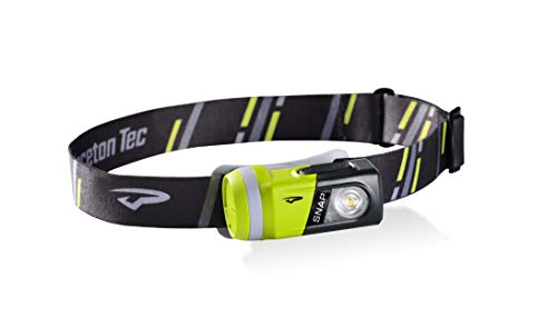 Princeton Tec Snap Modular LED Light System - All-in-one Headlamp, Flashlight, Bike Light, Safety Flasher, Lantern & Magnetic Area Light (200 Lumens, Gray/Green)