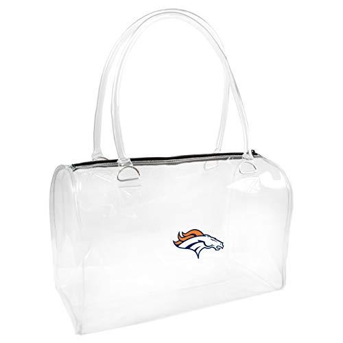 NFL Denver Broncos Clear Bowler Handbag