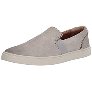 Frye Women's Ivy Scallop Slip On Sneaker, White Sky, 10 M US