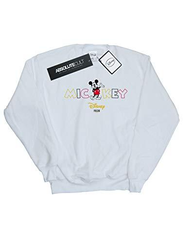 Camisa Entrenamiento 1928 De Blanco Mickey Disney Mujer Mouse pBqw6TwOI