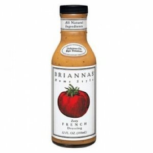 BRIANNAS DRSSNG ZESTY FRENCH, 12 OZ