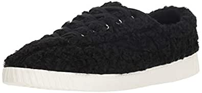 TRETORN Women's NYLITE18PLUS Sneaker, Black, 4 M US