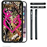 Gory Accy Cases - Real Tree Camo Buck Hot Pink Buck Love iPhone 7 Plus Rubber Silicone TPU Cell Phone Case