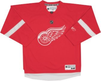 Reebok Detroit Red Wings Toddler Replica Home Jersey 2-4 Toddler - Toddler Replica Hockey Jersey