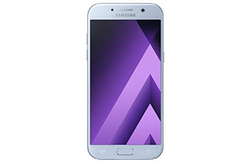 Samsung Galaxy A5 (2017) A520W 32GB Unlocked GSM Phone w/ 16MP Camera - Blue Mist (Renewed)