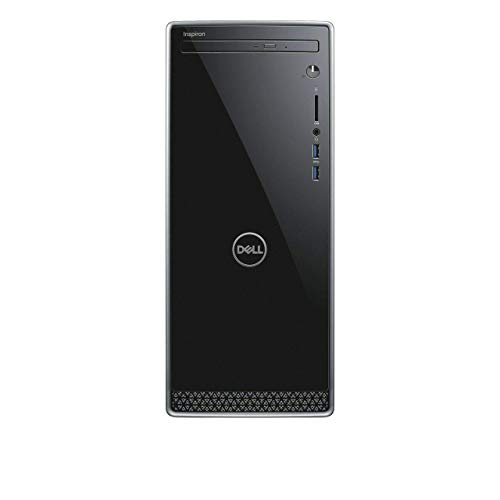 2019_Dell Inspiron 3670 Desktop Desktop, 9th Gen Intel i3-9100, 1TB HDD, 8GB RAM, DVD R/W, Wireless + Bluetooth, HDMI | VGA, SD Card Reader,Windows 10