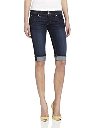 Amazon.com: Hudson Jeans Women's Palerme Knee Denim Short