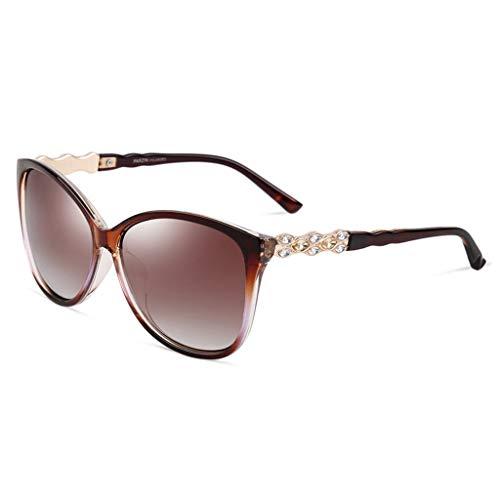 Sport Mirror polarisées lunettes de Hipster Frame New Femme Driving Big Soleil Des Lunettes de soleil C Couleur Frame B Ipgcq
