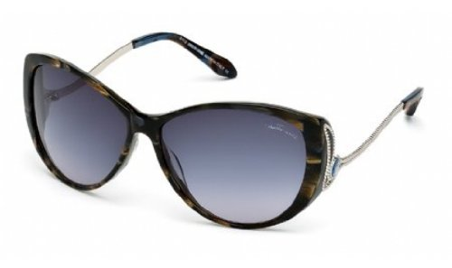 (Roberto Cavalli Sunglasses RC 741S BLUE AND BROWN 50B Kandooma)