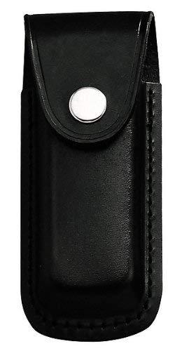 jowiha - Estuche de piel para cuchillos de 10 o 12 cm, color negro o marrón