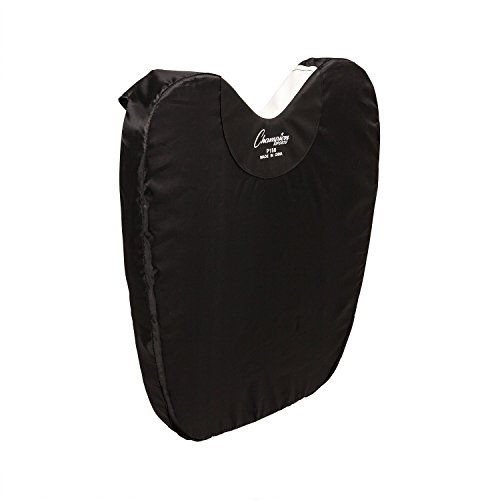 (Champion Sports Umbire Exterior Body Chest Protector Pad, Black)