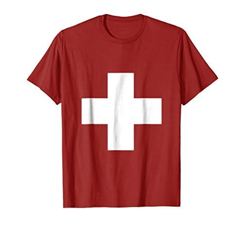 Switzerland Flag Swiss Cross -