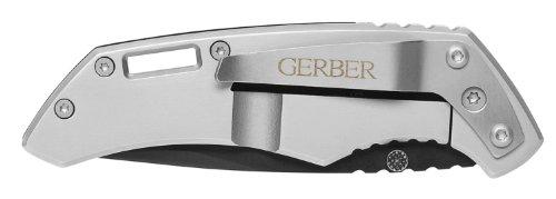 Gerber Contrast Knife, Serrated Edge, Drop Point [30-000259]