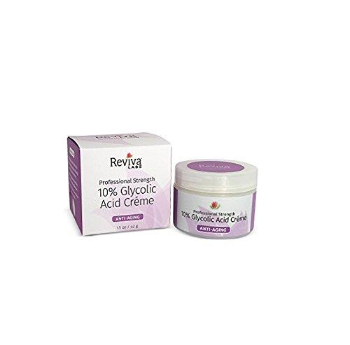 Reviva Labs 10% Glycolic Acid Cream -- 1.5 oz 383-01