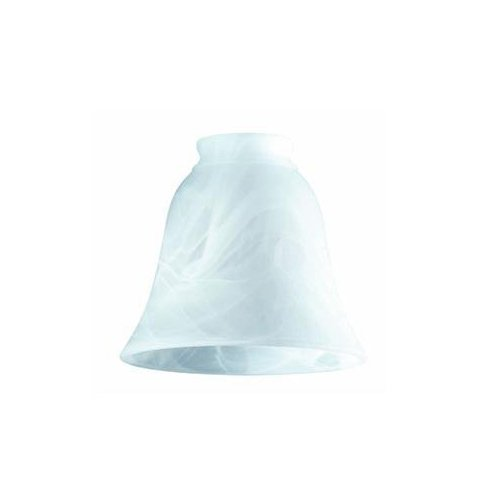 [Westinghouse Lighting  8127200 Corp 4-3/4-Inch Milky Scavo Shade] (Milky White Glass Shade)